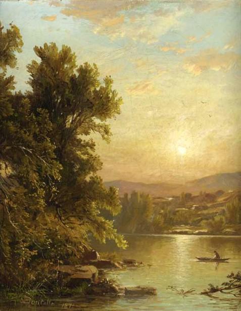 Sunrise Over The Catskills
