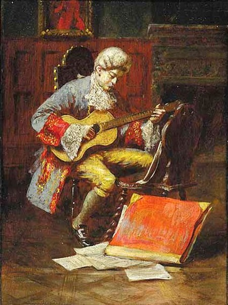 The Marquis And His Guitar