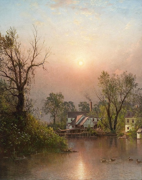 The Mill, Sand Island, Lehigh Valley, Bethlehem, Pennsylvania