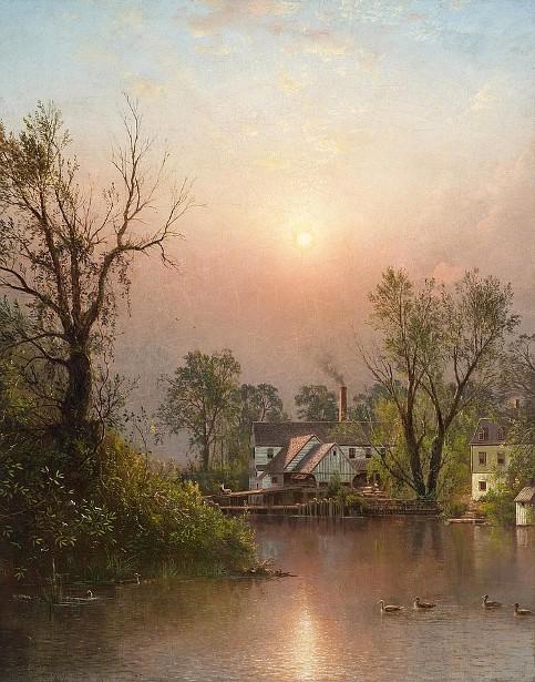 The Mill, Sand Island, Lehigh Valley, Bethlehem, Pennsylvania