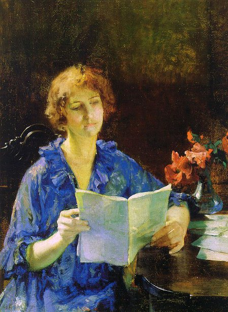 Woman Reading (Morning)