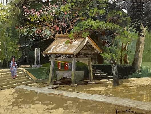 A Font Of Purification, Kamakura, Japan