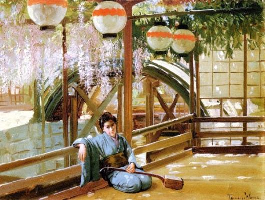 A Japanese Bridge - Kameido Shrine