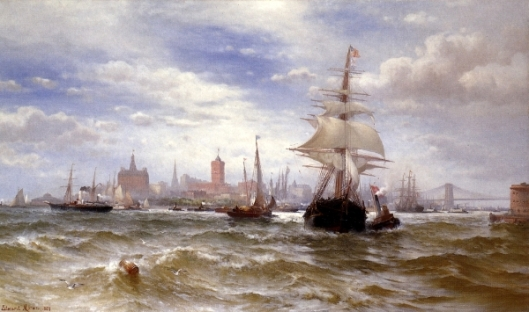 City And Harbor Of New York