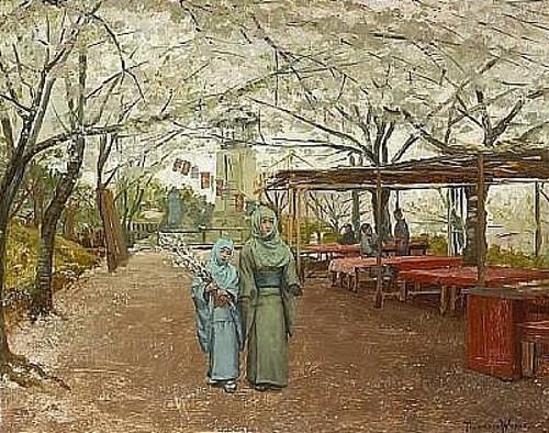 Early Cherry Blossoms, Nogeyama, Yokohama