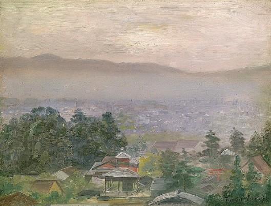 Hazy Morning In Kyoto