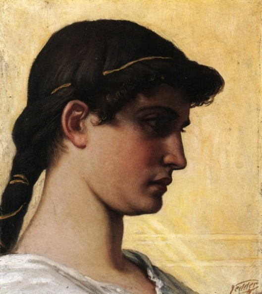 Head Of A Roman Maiden