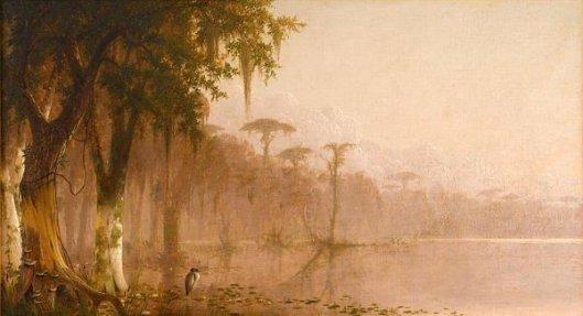 Heron On The Bayou