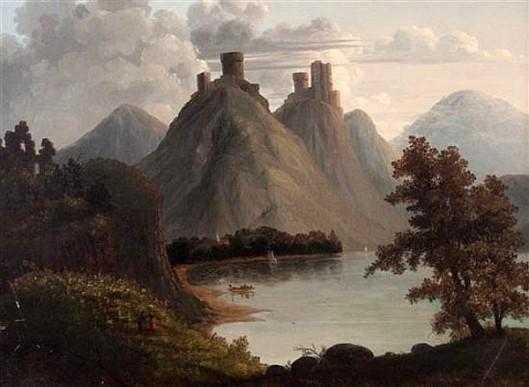 Liebenstein And Sternenfels On The Rhine