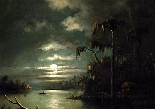 Lindsay's Louisiana Night Scene