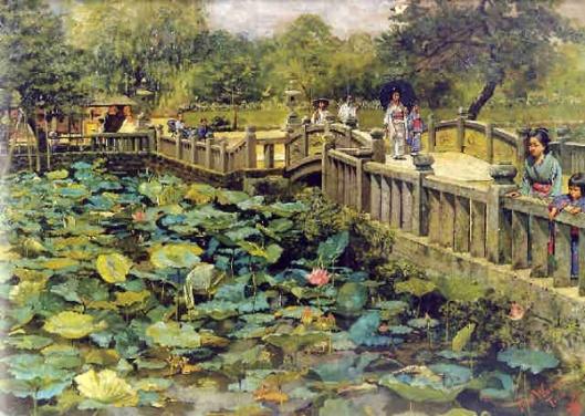 Lotus Pond, Shiba, Tokyo