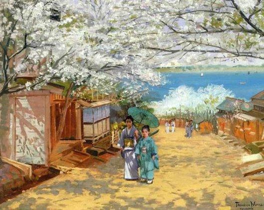 Sunshine and Cherry Blossoms, Nogeyama, Yokohama