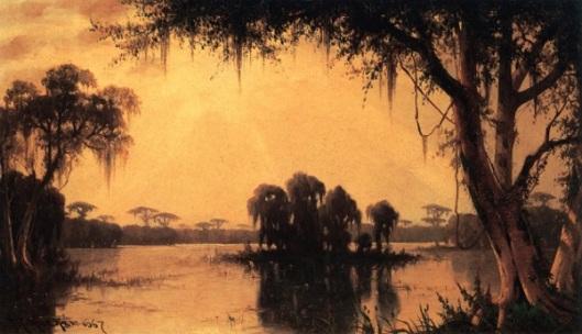 The Bayou At Lake Maurepas, Louisiana