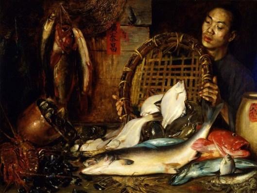 The Chinese Fishmonger