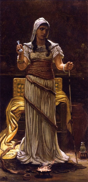 The Etruscan Sorceress