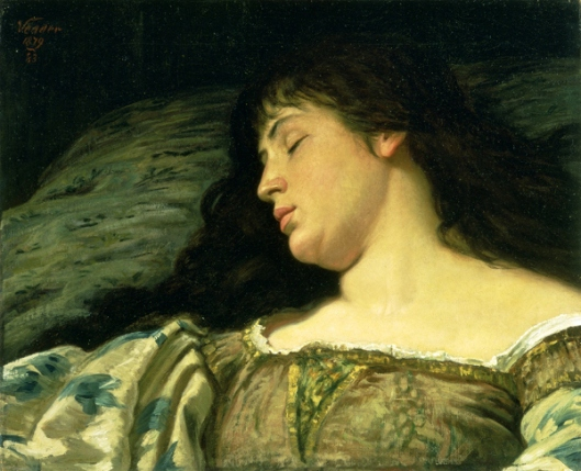 The Sleeping Girl