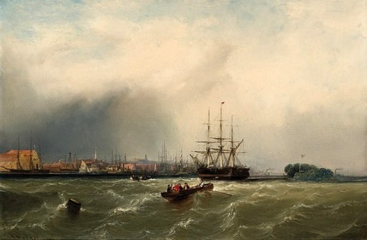 View Of Philadelphia, The Arrival