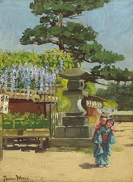 Wisteria Temple Garden, Kameido Tokyo