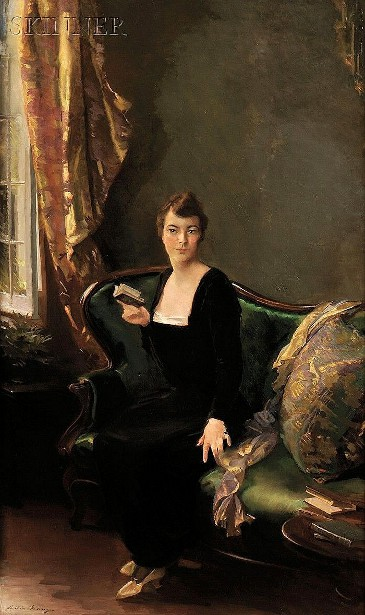 A Lady In Black - Mrs. D.