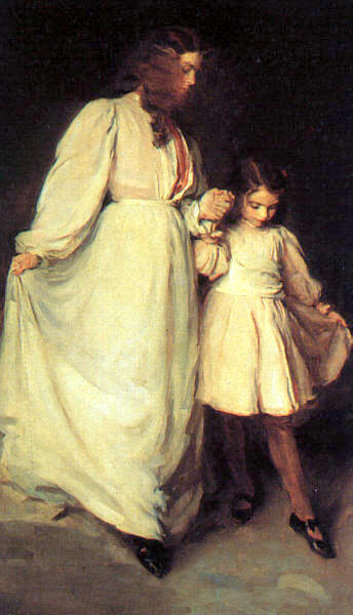 Dorothea And Francesca - The Dancing Lesson