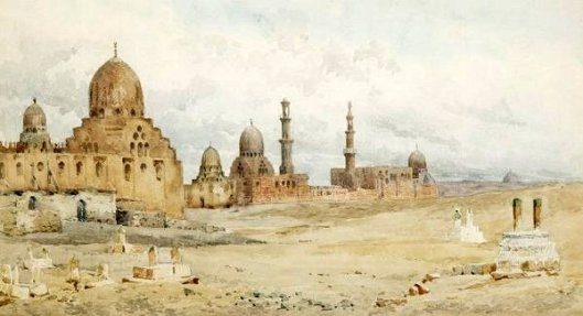 Egyptian City With Mosques