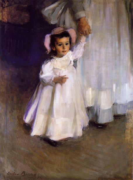 Ernesta Drinker - Child With Nurse