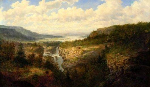 Falls Of Tamahaka, Cherokee County, North Carolina