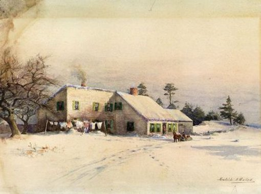 Farmhouse, Winter
