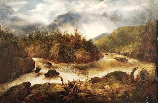 Fishing In The Blue Ridge Mountains