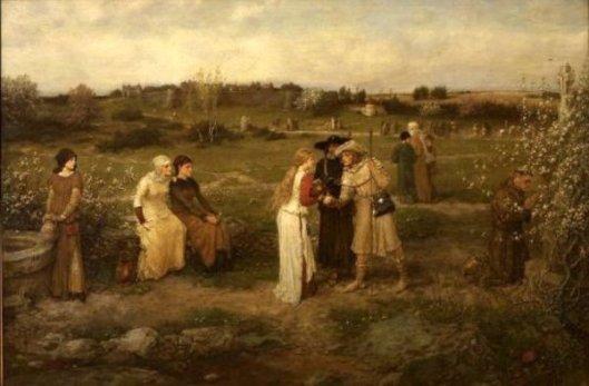 Godspeed! Pilgrims Setting Out For Canterbury