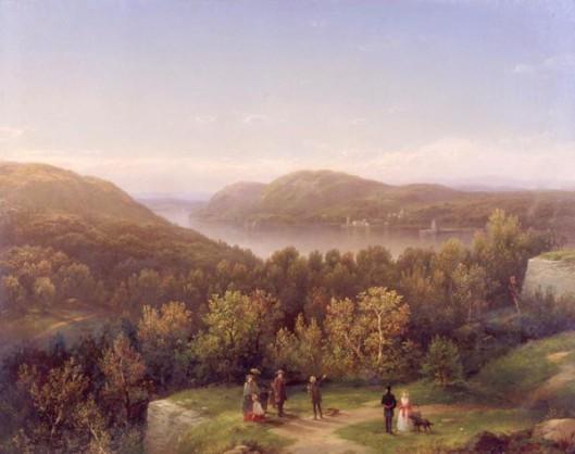 Hudson River Valley from Fort Putnam, West Point