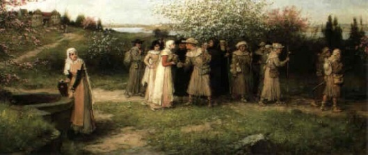 Ladies Of The Well - The Well Along The Pilgrim's Road - The Pilgrimage - Refreshments For The Pilgrims