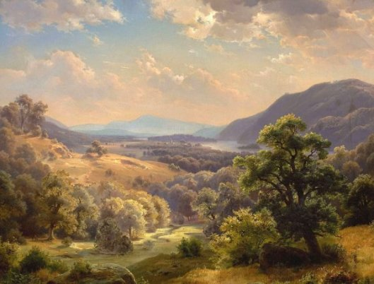 Landscape With Valley And Mountains - The Susquehanna Valley