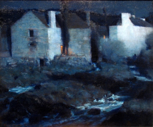 Moonlight, Mills At Pont Aven