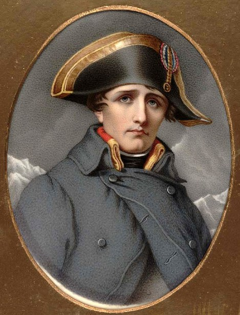 Napoleon Bonaparte (copy after Jean François Favré)