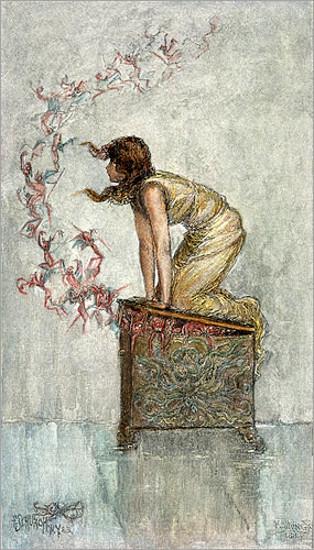 Opening Of Pandora's Box