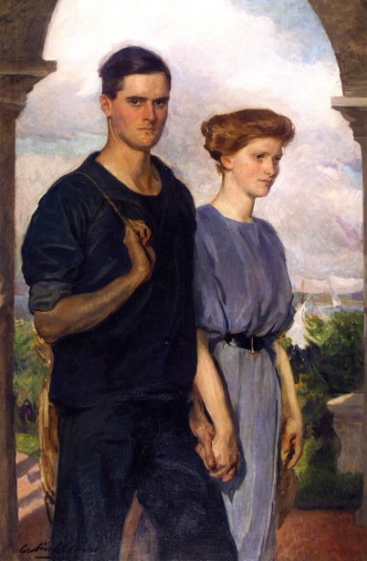 Portraits In Summer - Mr. And Mrs. Henry Sandwith Drinker