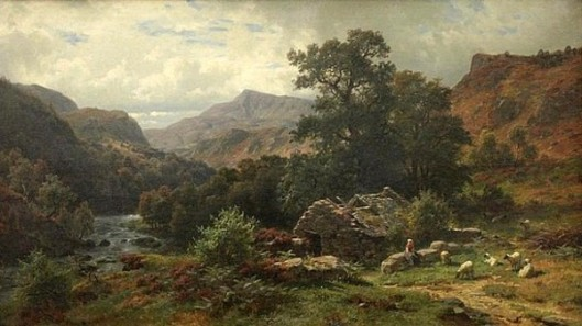 Scene In Dolwyddelan Valley, North Wales