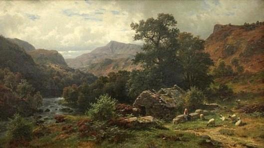 Scene In Dolwyddelan Valley, North Wales