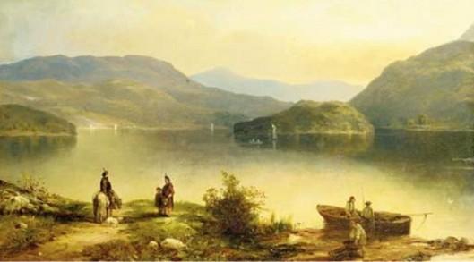 Scottish Lake View
