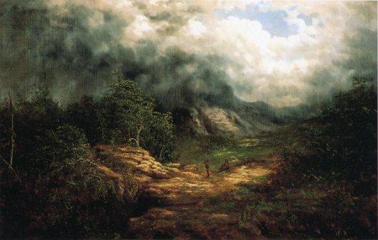Storm Over The Blue Ridge