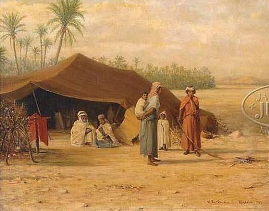 The Bedouin Encampment
