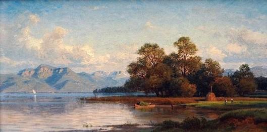 Fishermen At The Lakeside