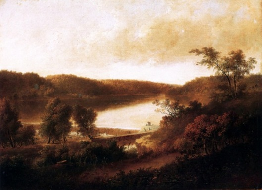 Landscape By The Dam