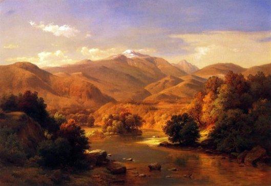 Mount Washington From The Saco