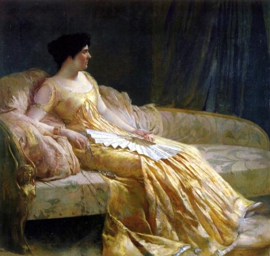 The Artist's Wife, Evangeline Wilbour Blashfield