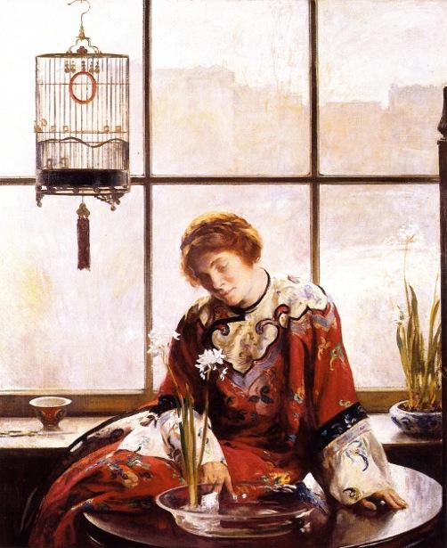 Red Comunion - Red Kimono