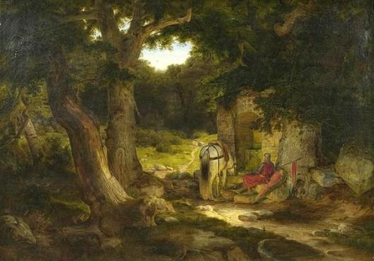 Resting Knight