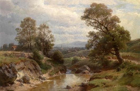 Scene Of The Lower Inntal