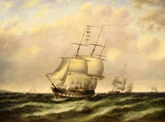 Ships In Rough Coastal Waters